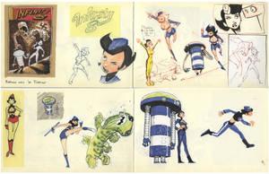Infinity 8 : Character Design by lao-wa