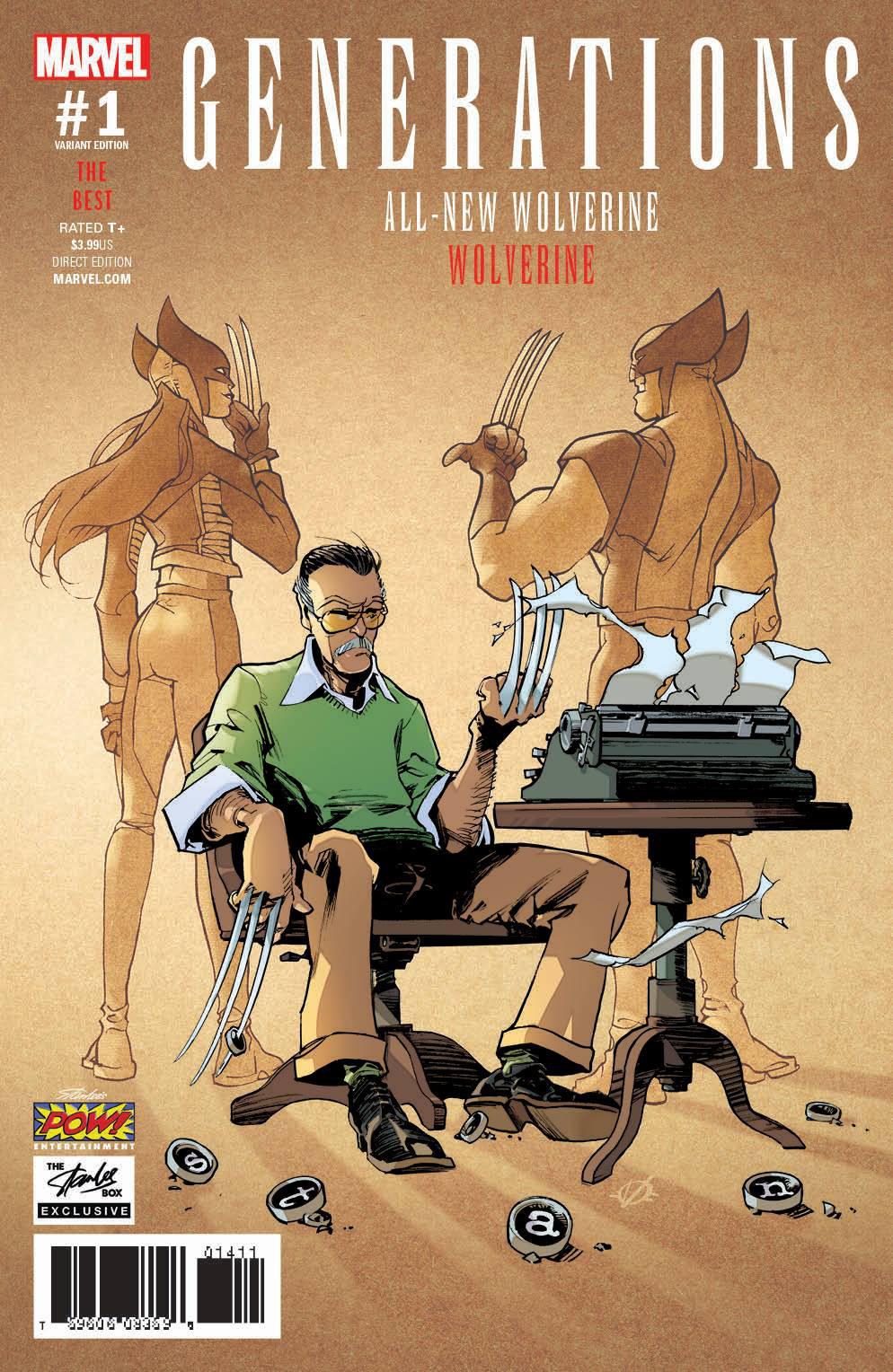 Stan Lee's Comic Box Cover by lao-wa