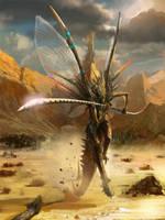 A  monster by mingrutu