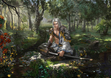 Swordsman by mingrutu