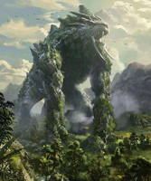 Earth monster by mingrutu