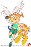 Digimon 2 : TAKERU : by sweetc