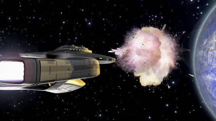 Space Fight 4 by MisterToretto