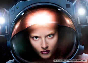 Space Chick 2 by MisterToretto