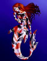 Koi Mermaid by ratopiangirl