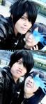 Black Rock Shooter DERP by Kuronee-chan