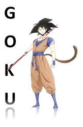 Goku by davvworlds