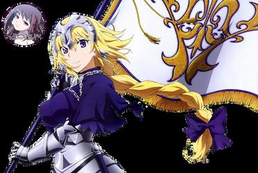 Jeanne d'Arc (Ruler) Render by Chiyo-Orihara