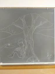 chalkboard art by Joeman42