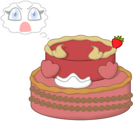 Astrianne the Cake by P1nkApple