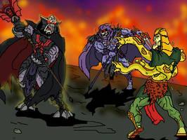 Battle of the EVIL MSPaint by JazylH
