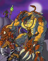 Copperhead ambushes Zodak by JazylH