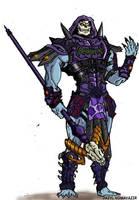 Battle Armor Skeletor Redesign by JazylH