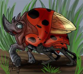 Mutany Zoo: The Rhy-bug by JazylH