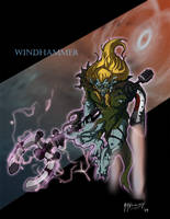WindHammer from Silverhawks by JazylH