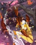 Valiant's Beastly Encounter by JazylH