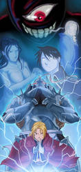 FMA The Five Sacrifices by JazylH