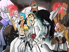 Aizen and the Espada Wallpaper by JazylH