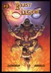 Beast Legion #8 Cover by Rafael Perry by JazylH