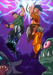 AMP/ Beast Legion Crossover by JazylH