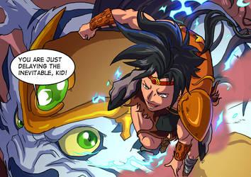 Xeus V/s his Beast - Beast Legion by JazylH