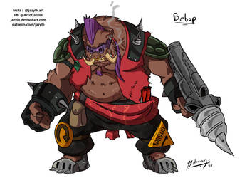 TMNT Redesigns - Bebop by JazylH