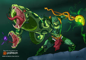 Savage King Hsss - Anime Style by JazylH