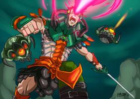 Savage Masters: Triklops by JazylH