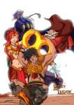 Beast Legion 8th Anniversary by JazylH