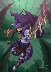Skeletor Attacks by JazylH