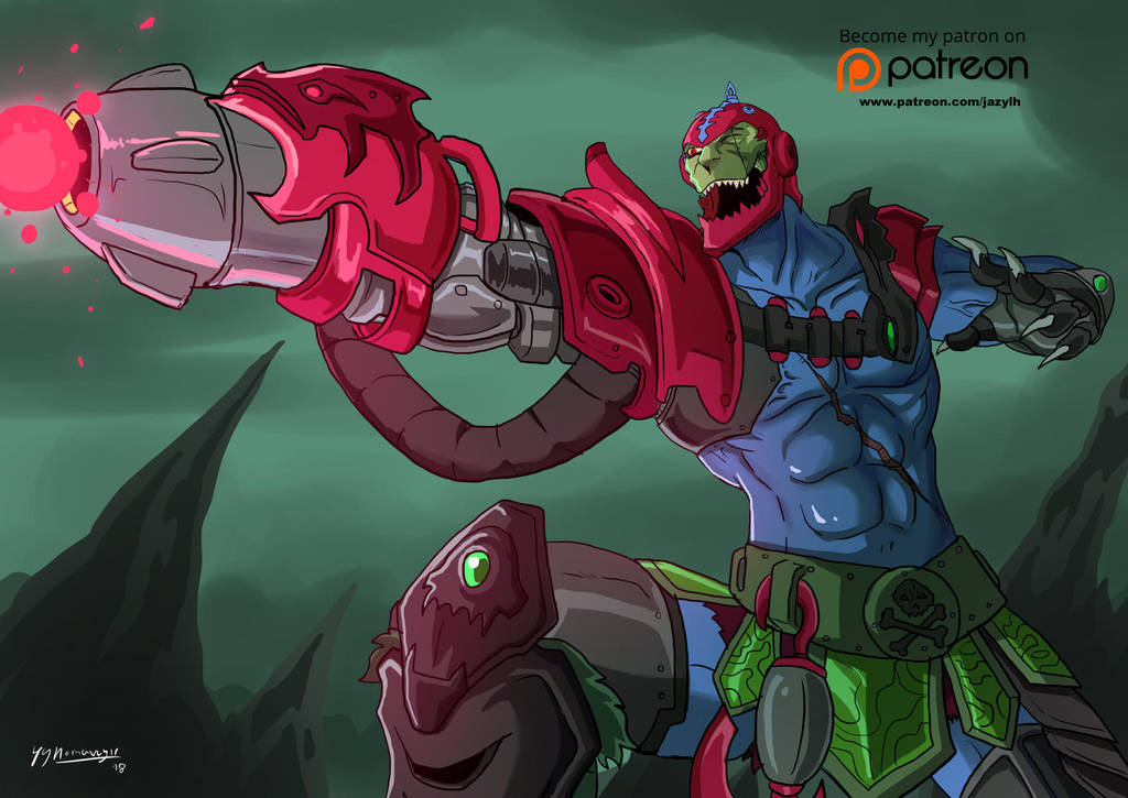 Anime Style Masters : Trap Jaw by JazylH