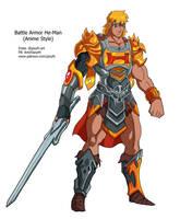Battle Armor He-man by JazylH