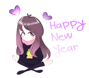 Happy New Year qwq by kiraAnima
