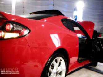 Hyundai-Coupe by mhyr