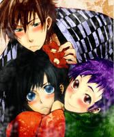 Amatsuki: Trio by kagusa