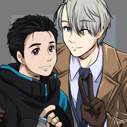 Yuri and Viktor by YK-DGB