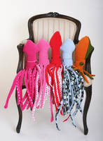 Cephalopods in a Formal Chair by treesofmachinery