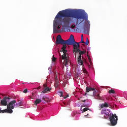 Purple Jellyfish by treesofmachinery