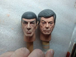 McCoy Sculpt - painted sample! 2 by DarrenCarnall