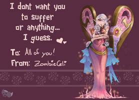 Heartseeker Morgana sends her Binding Love! by ZombieCeli