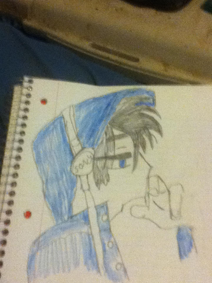 Anime Boy With Headphones And Blue Hoodie By Wwe345 On Deviantart