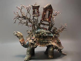 Tortoise of Burden by creaturesfromel