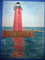 Kenosha Lighthouse by numberoneblind