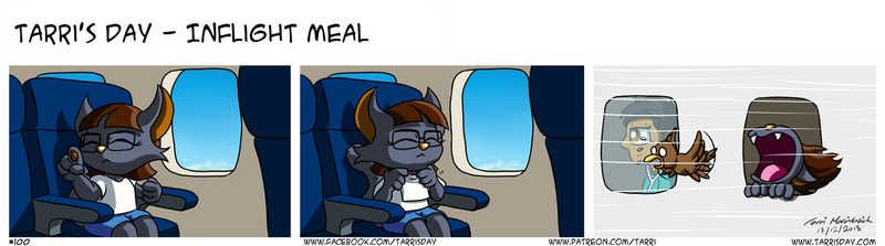 Tarri's Day - Inflight Meal by TarriPup