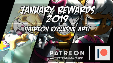 Patreon Rewards Teaser - January 2019! by TarriPup