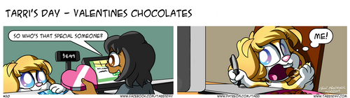 Tarri's Day - Valentines Chocolates by TarriPup