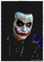 Joker 4 - Heath Ledgers by kruemel-sangerhausen