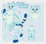 Icy Blue Kitty Adopt [OPEN] by sugar-poppy