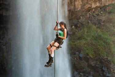 Tomb Raider - Abseil by ShonaAdventures