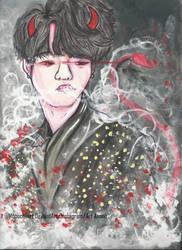 Min Yoongi by Mooochiiart